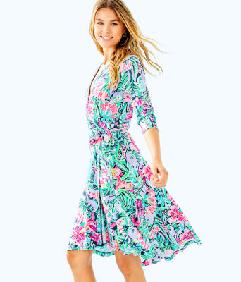 Rozaline Wrap Dress, , large