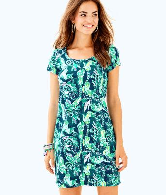 Short Sleeve Beacon Dress, , large