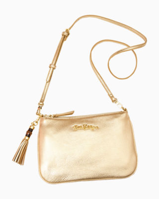 Cruisin Crossbody Bag, Gold Metallic, large 0