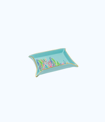 Trinket Tray, Multi Catch The Wave, large