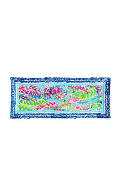 Serving Platter, Multi Catch The Wave, large