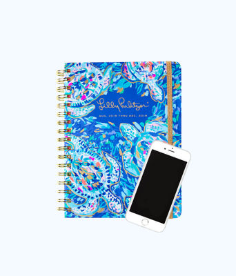 2018 - 2019 17 Month Large Agenda, Multi Party Wave Planner, large 1