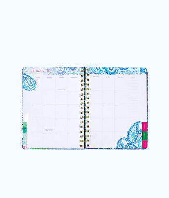 2018 - 2019 17 Month Large Agenda, Multi Party Wave Planner, large 4