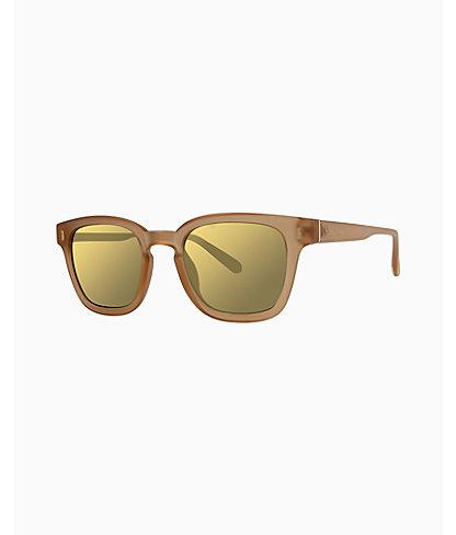 Josie Sunglasses, Matte Crystal Gold, large 0