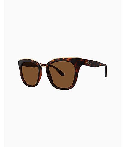 Lucia Sunglasses, Dark Tortoise, large 0