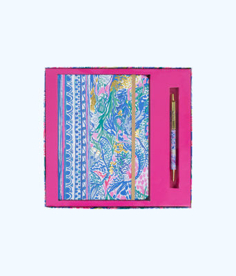 Journal With Pen, Multi Mermaids Cove, large