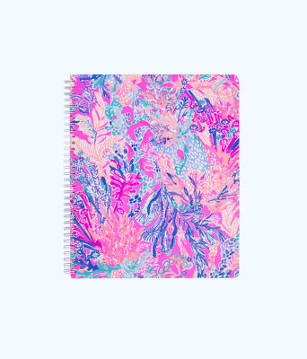 Large Notebook, Light Pascha Pink Aquadesiac, large 0