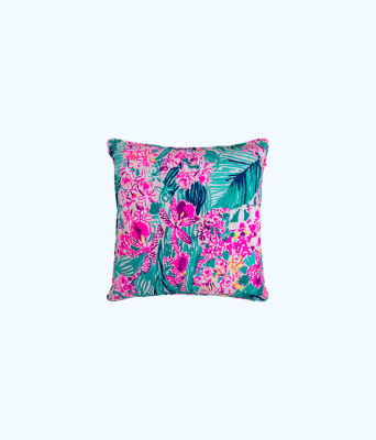 Large Pillow, Multi Via Flora, large