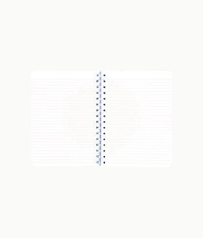 Mini Notebook, Blue Peri Turtley Awesome, large 1