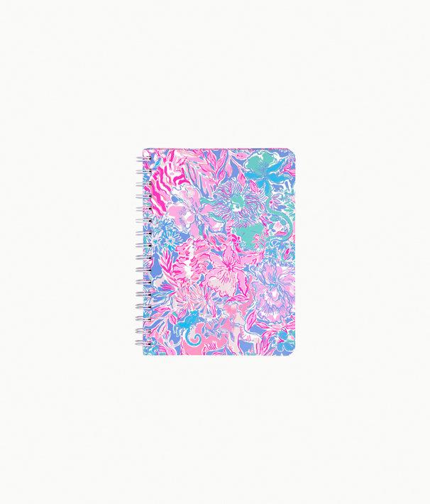 Mini Notebook, Blue Peri Viva La Lilly, large