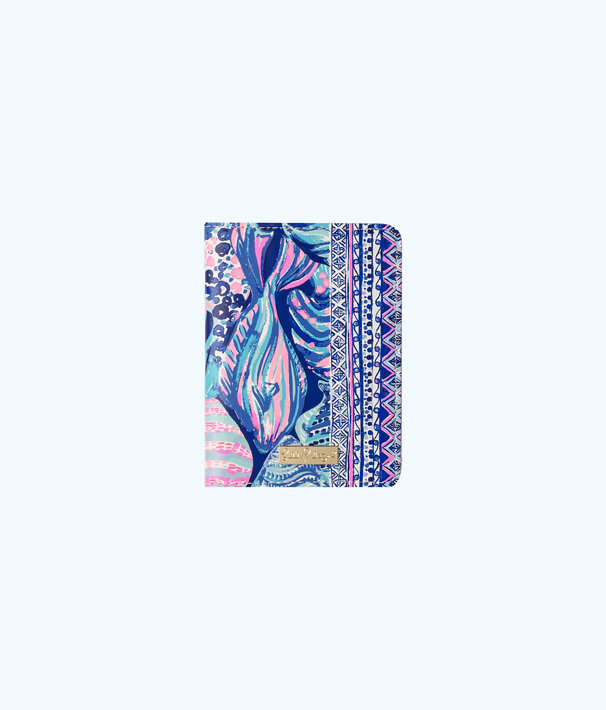 Passport Cover, Twilight Blue Scale Up, large