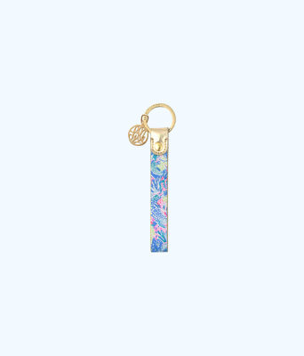 Strap Keychain, Multi Mermaids Cove, large
