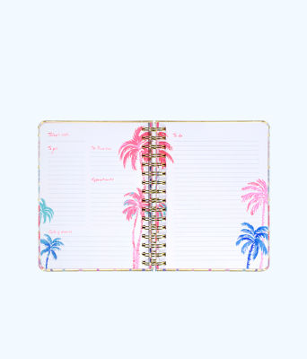 To Do Planner, Resort White Desert Palm Stripe Engineered Skipper, large 1