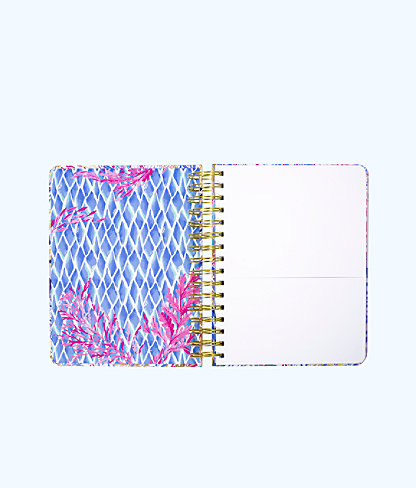 To Do Planner, Crew Blue Tint Kaleidoscope Coral, large 2