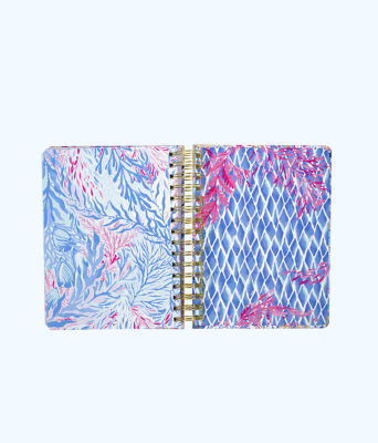 To Do Planner, Crew Blue Tint Kaleidoscope Coral, large 3