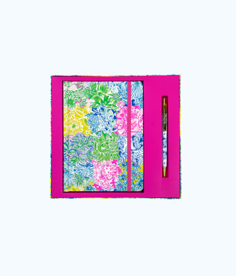 Journal With Pen, Multi Cheek To Cheek, large