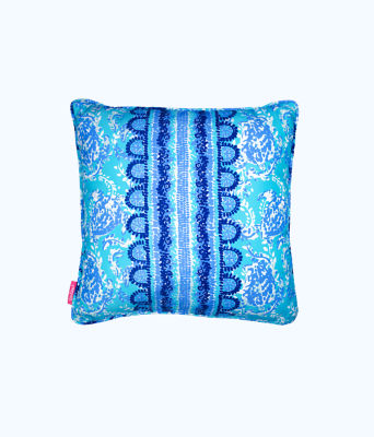 Large Pillow, Blue Peri Turtley Awesome, large