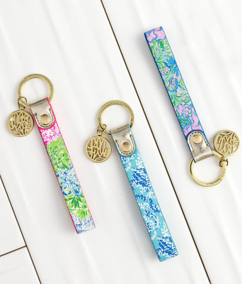 Strap Keychain, Multi Cheek To Cheek, large