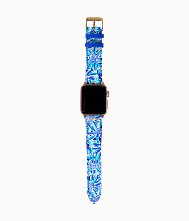 Apple Watch Band, Iris Blue High Manetenance, large