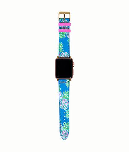 Apple Watch Band, Zanzibar Blue Swizzle Out, large 0