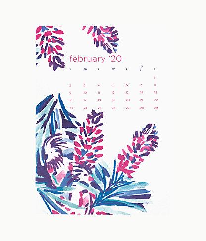 2020 Easel Desk Calendar, Coastal Blue Lion Around, large 4