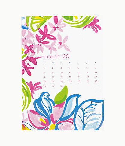 2020 Easel Desk Calendar, Coastal Blue Lion Around, large 5