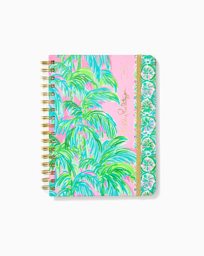 2021-2022 Large Agenda - 17 Month, Pink Blossom Suite Views, large