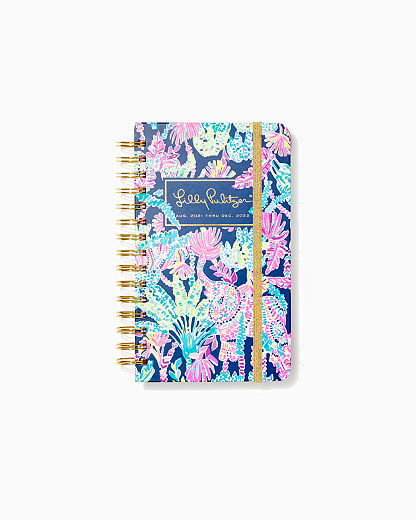 2021-2022 Medium Agenda - 17 Month, Oyster Bay Navy Seen And Herd, large