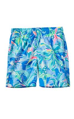 Boys Junior Capri Swim Trunk, , large