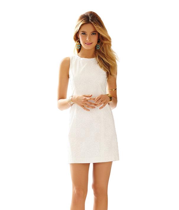 Mila Lace Detail Shift Dress