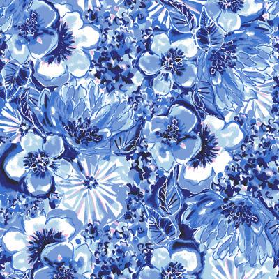 Luella Dress, Coastal Blue Catch N Keep Small, swatch
