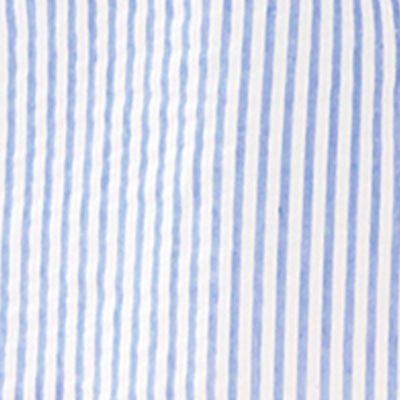 Coastal Blue Ltwt Oxford Stripe
