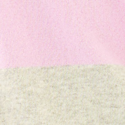 Lilac Freesia Heathered Foggy Grey Color Block