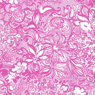 Pink Tropics Tint Bunny Hop Tie