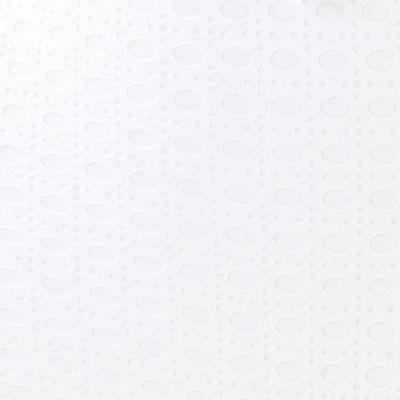 Resort White Crochet Swim Fabric