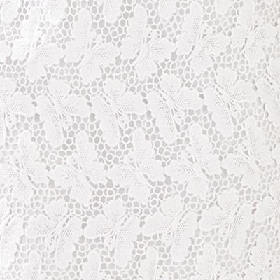 Resort White Papillion Lace